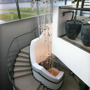 Turret/Curved Staircase Design