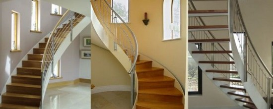 Curved stairs designs from Signature Stairs