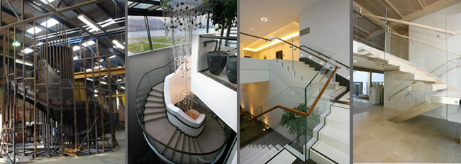 Signature Stairs commercial staircase project for Europe Hotel