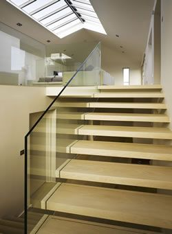 Glass staircase design - Signature Stairs