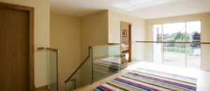 Free Standing Glass Balustrade to Stairwell & Gallery