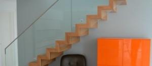 Oak Corbellian Stairs