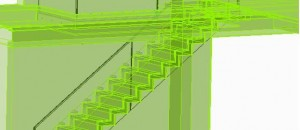 Drawing details of our Corbellian Staircase