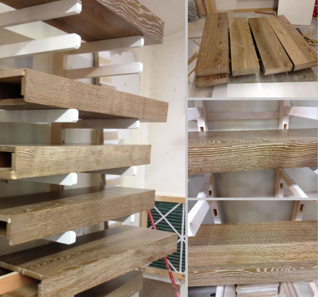 high grade natural solid timber steps - Signature Stairs